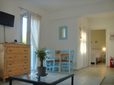 All the apartments of Hotel Indigo in Serifos have flat tv and are fully equipped