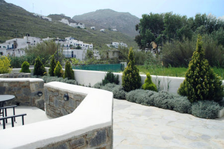 Beautiful view of Serifos from the apartments of hotel Indigo Studios