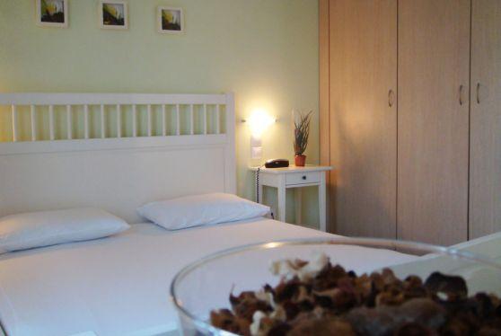 Υπνοδωμάτιο με όλες τις ανέσεις και ιδιαίτερη διακόσμηση