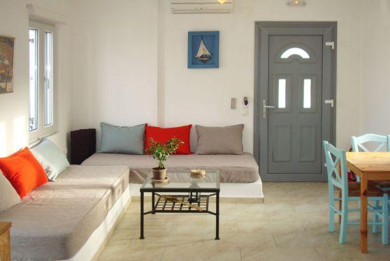 Άποψη σαλονιού σε superior διαμέρισμα